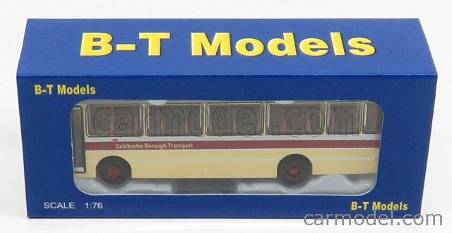 B-T MODELS B015 Echelle 1/76  LEYLAND LEOPARD AUTOBUS COLCHESTER BOROUGH TRANSPORT 1980 CREAM RED