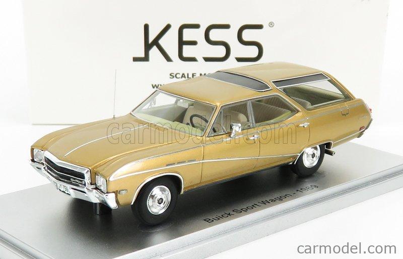 KESS-MODEL KE43052010 Масштаб 1/43  BUICK SPORTS WAGON 1969 GOLD MET