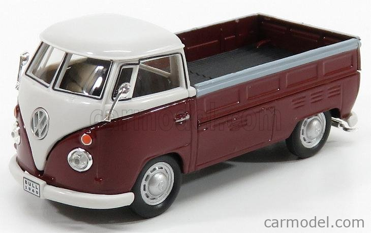 HONGWELL 251PND6R Масштаб 1/43  VOLKSWAGEN T1 PICK-UP 1960 BORDEAUX WHITE