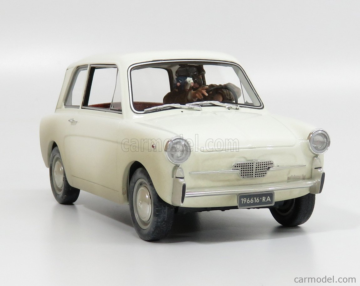 LAUDORACING LM119A Escala 1/18  AUTOBIANCHI BIANCHINA BERLINA DI FANTOZZI - TV SERIES WHITE