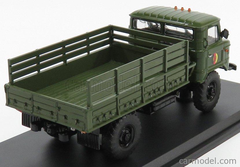 PREMIUM CLASSIXXS 47052 Scale 1/43  GAZ 66 TRUCK 1968 MILITARY GREEN