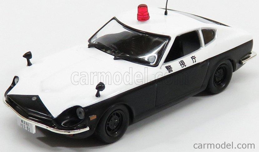 EDICOLA 126898 Scale 1/43  NISSAN 240Z FAIRLADY POLICE 1970 WHITE BLACK
