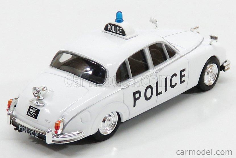 EDICOLA 126921 Masstab: 1/43  JAGUAR MKII POLICE 1960 WHITE