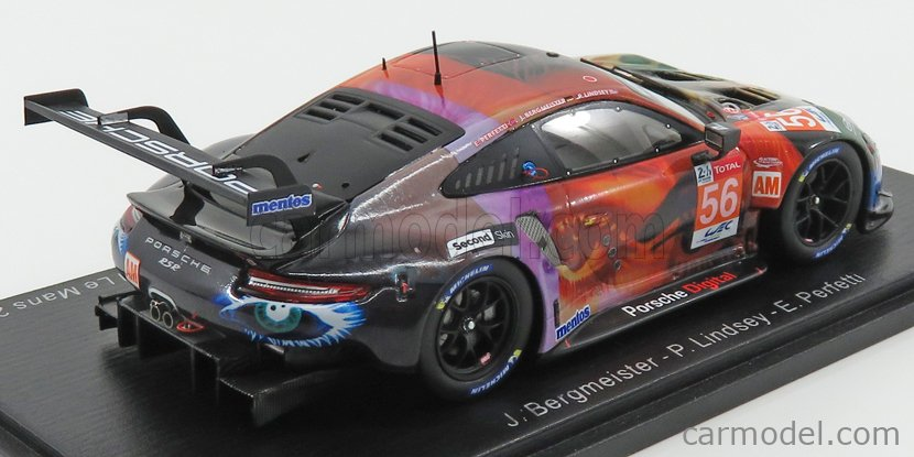 Porsche 911 991 Rsr #56 Winner Lmgte Am Class 31Th Le Mans 2019 SPARK 1:43 S7942
