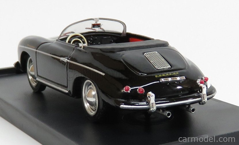 BRUMM R117S-02-UPD Echelle 1/43  PORSCHE 356 SPEEDSTER OPEN 1952 BLACK