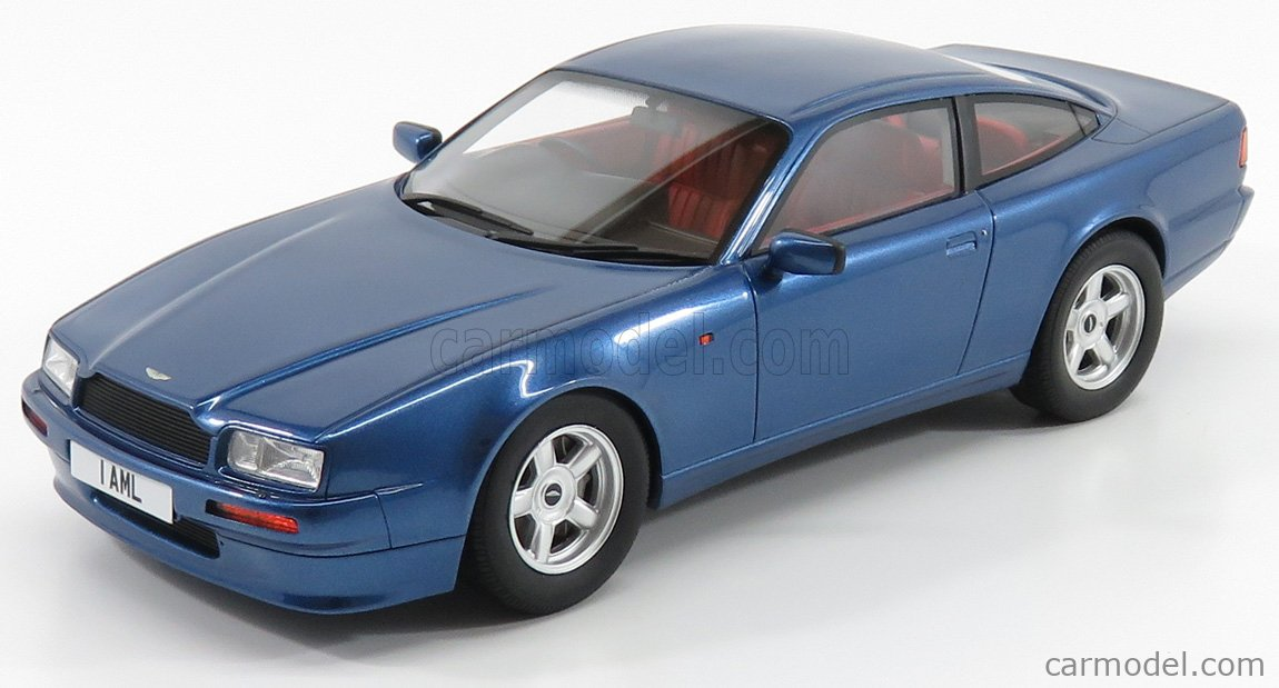 CULT-SCALE MODELS CML035-2 Масштаб 1/18  ASTON MARTIN VIRAGE COUPE 1988 BLUE MET