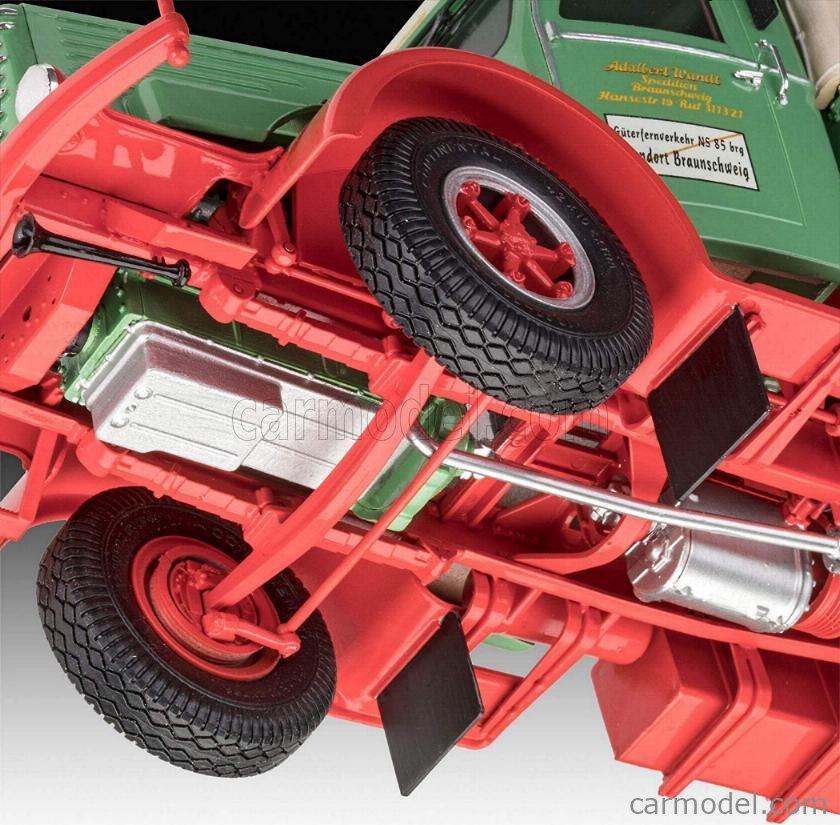 REVELL-KIT 07555 Escala 1/24  BUSSING 8000 S13 TRUCK ADALBERT WANDT SPEDITION BRAUNSCHWEIG TELONATO 1950 /