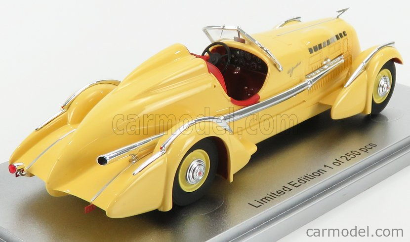 KESS-MODEL KE43055010 Scale 1/43  DUESENBERG MODEL SJ SPECIAL MORMON METEOR 1935 YELLOW