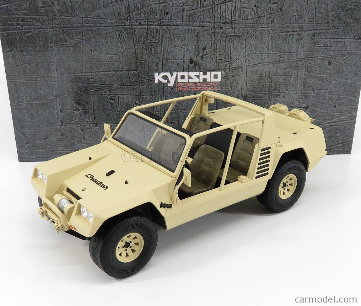 KYOSHO KSR18511KH Scale 1/18  LAMBORGHINI CHEETAH 1977 KHAKI BEIGE