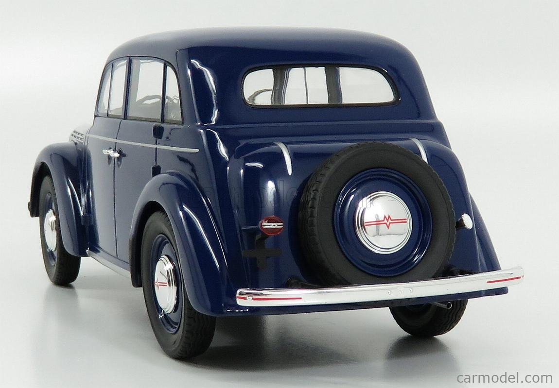 KK-SCALE KKDC180256 Scale 1/18  MOSKVITCH 400 1946 BLUE