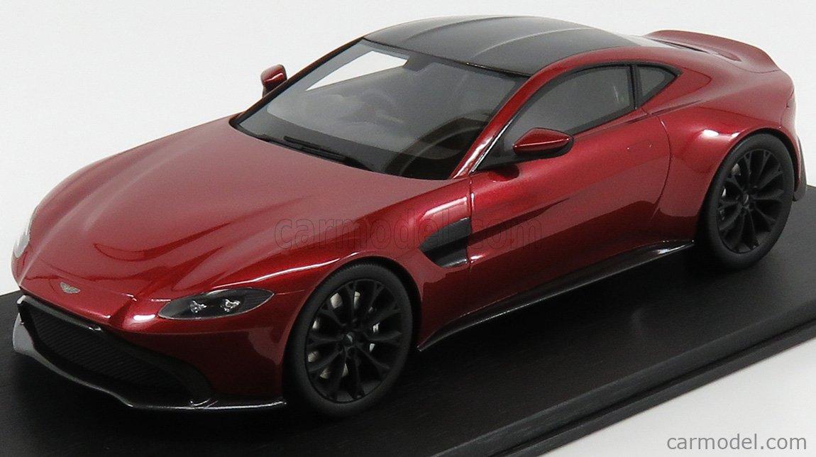 Truescale Ts0184 Scale 1 18 Aston Martin Vantage 2018 Hyper Red
