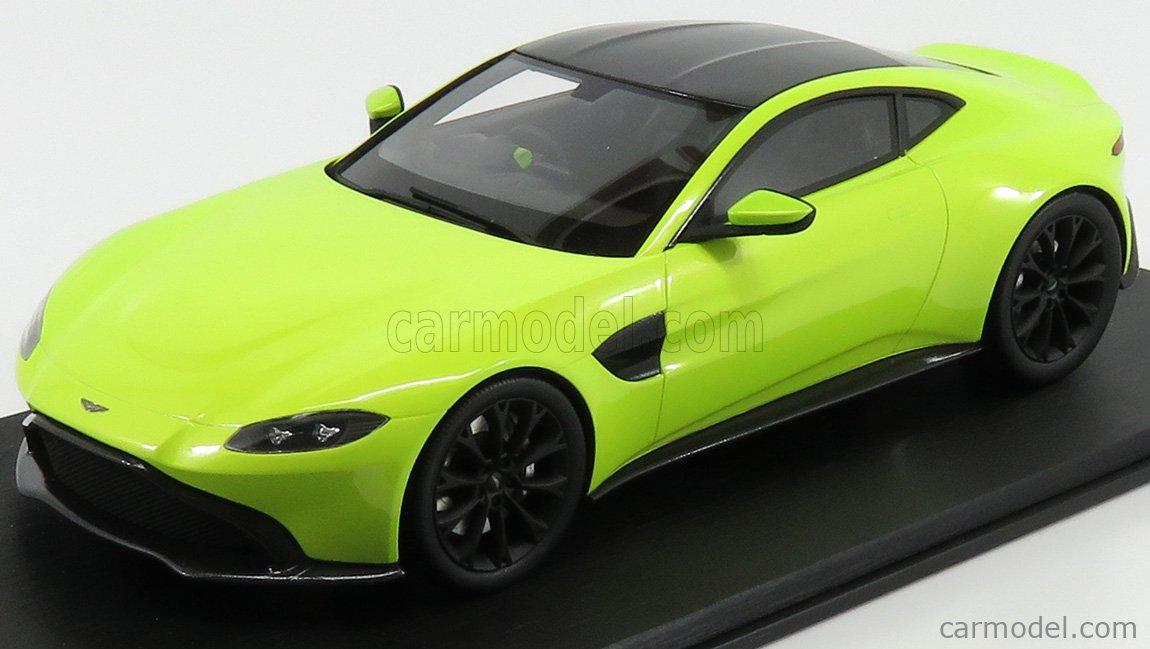 Truescale Ts0183 Masstab 1 18 Aston Martin Vantage 2018 Lime Essence