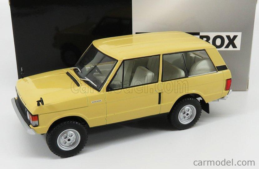 1:24 White Box Land Rover Range Rover 3.5 v8 1972 crema