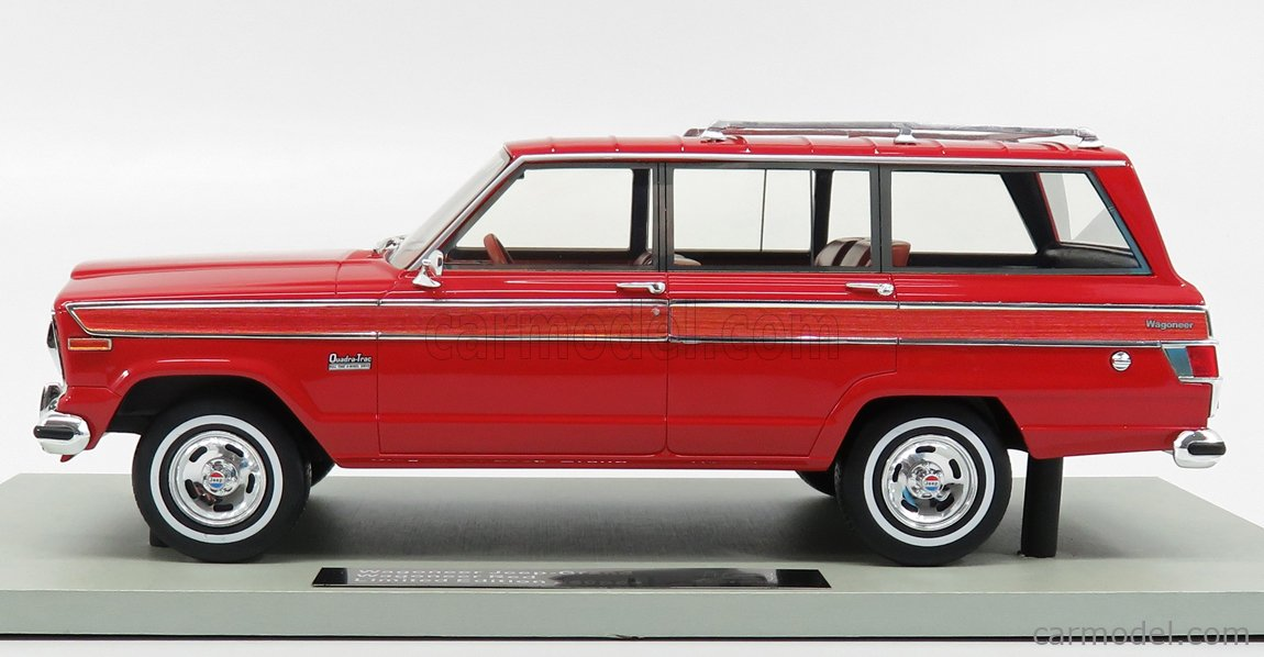 LS-COLLECTIBLES LS037H Masstab: 1/18  JEEP GRAND WAGONEER 1979 RED