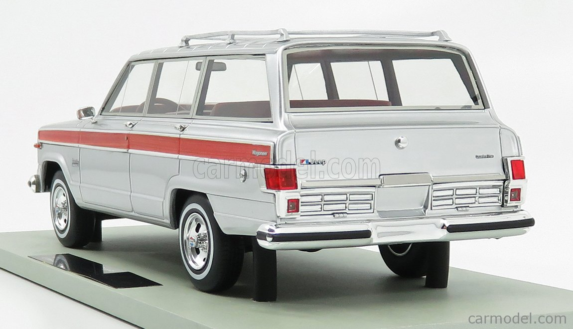LS-COLLECTIBLES LS037G Masstab: 1/18  JEEP GRAND WAGONEER 1979 SILVER