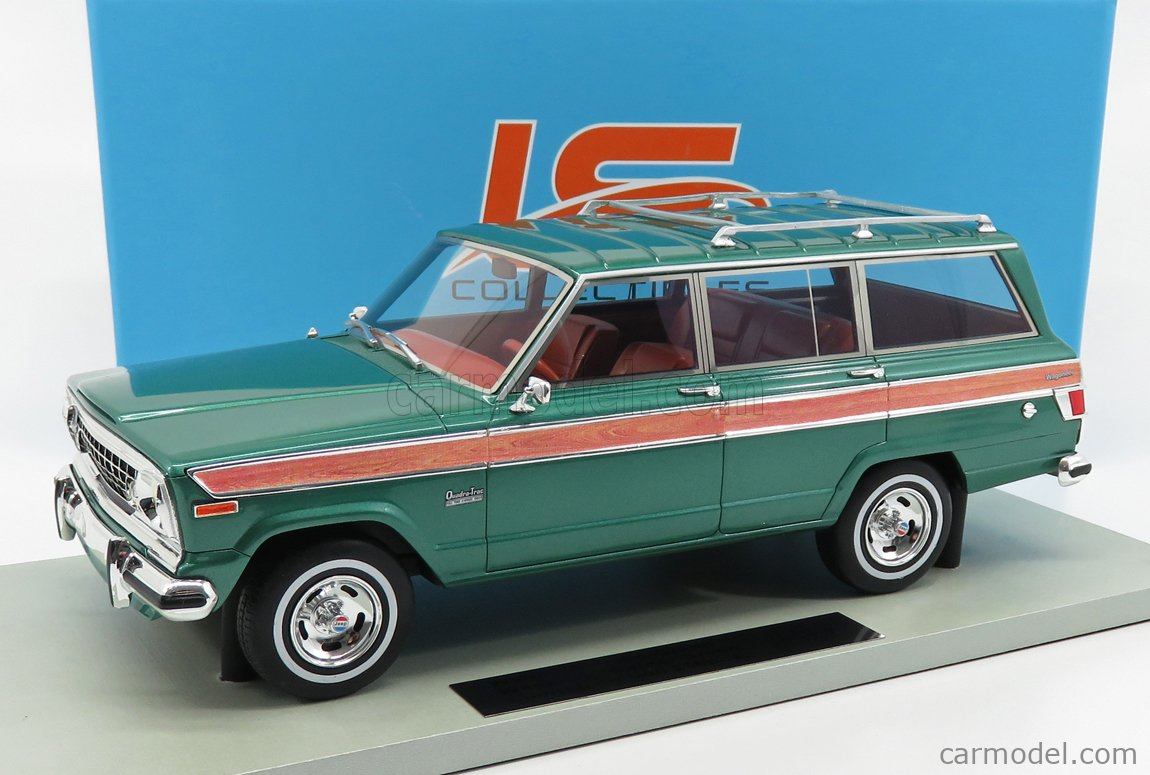 LS-COLLECTIBLES LS037F Masstab: 1/18  JEEP GRAND WAGONEER 1979 GREEN