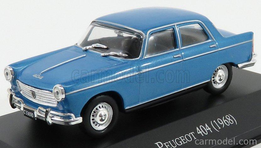 Peugeot 404 Berline 1960 Blue EDICOLA 1:24 SALRMIT035 Modellbau