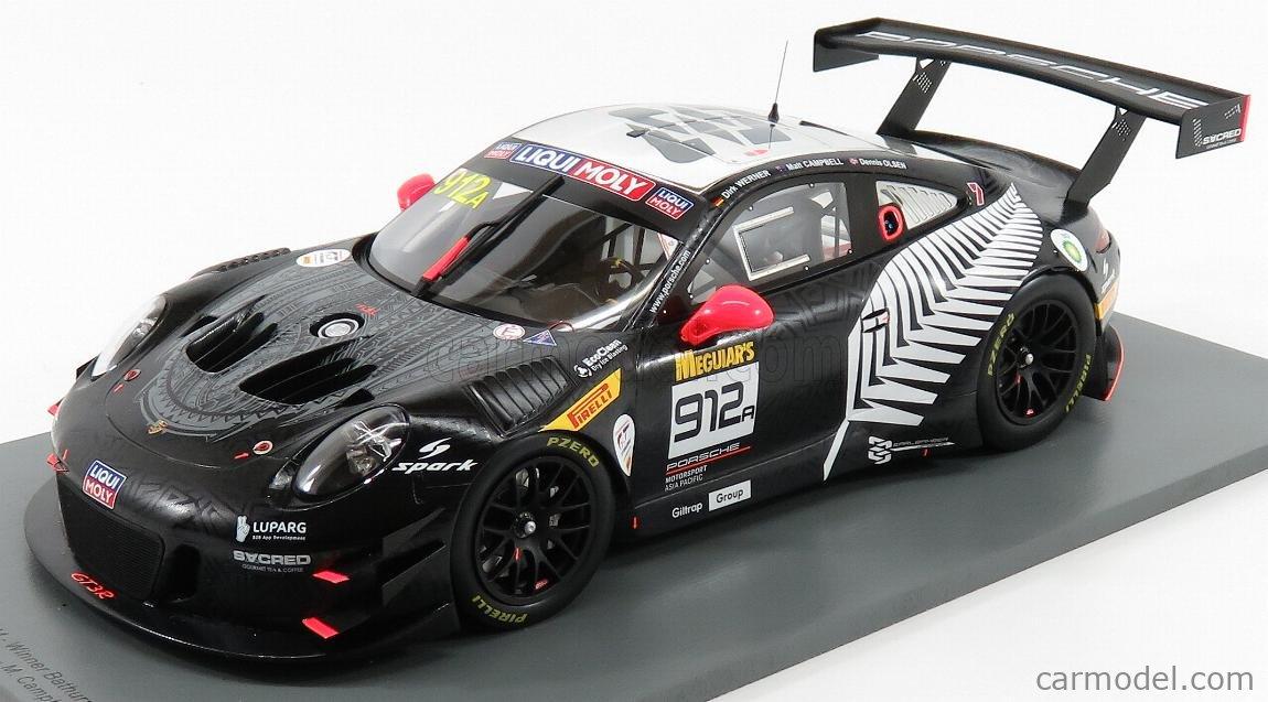 Porsche 911 GT3 R #912 Spark 1:18 Winner 12h Bathurst 2019