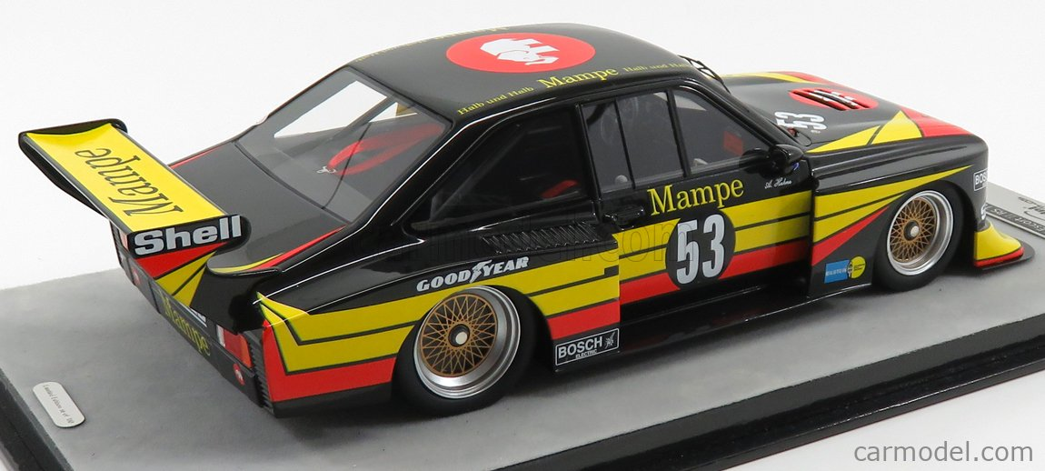 Ford Escort Ii Rs Turbo Mampe #53 Drm Norisring 1978 TECNOMODEL 1:18 TM18-172A
