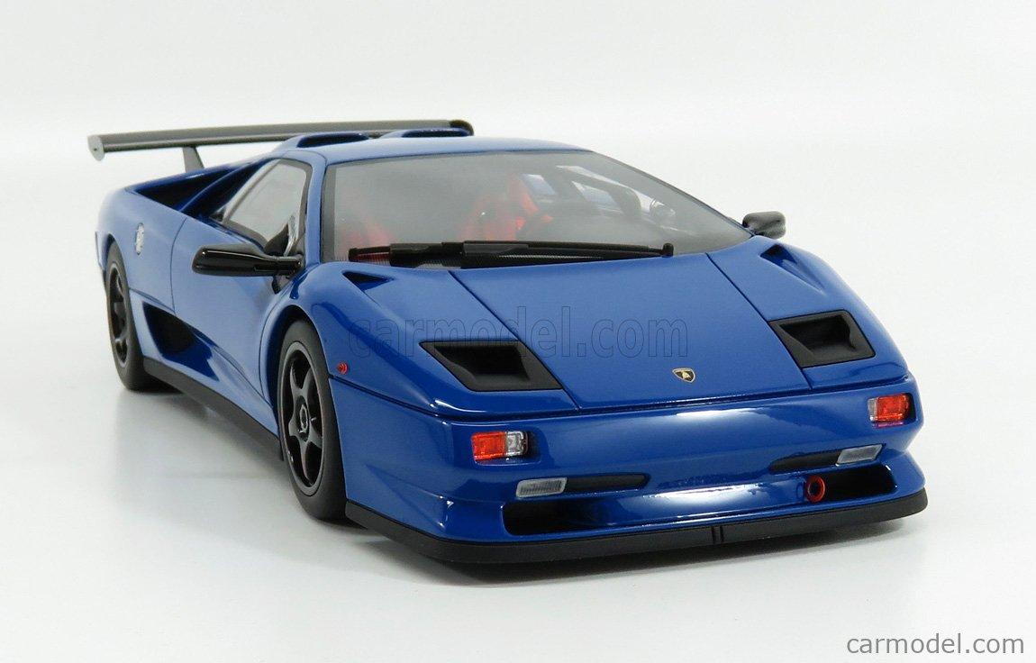 KYOSHO KSR18510BL Scale 1/18  LAMBORGHINI DIABLO SVR 1996 BLUE BLACK