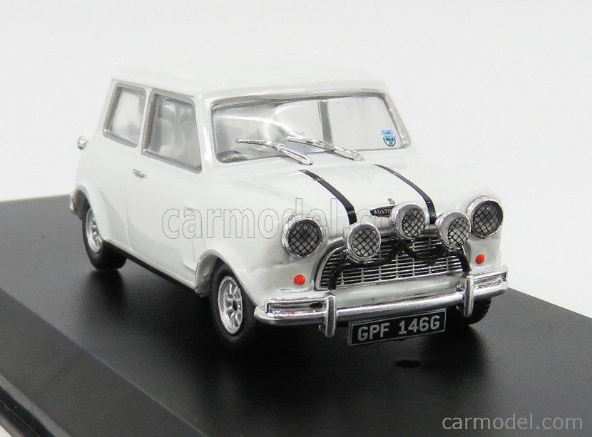 GREENLIGHT 86551 Echelle 1/43  AUSTIN MINI COOPER S 1275 MKI 1967 - THE ITALIAN JOB WHITE
