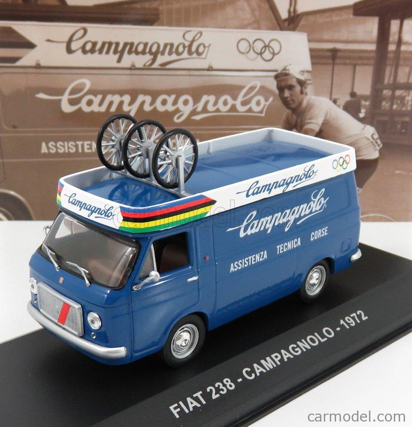 EDICOLA VCDE002 Echelle 1/43  FIAT 238 VAN CAMPAGNOLO ASSISTENZA CORSE 1972 BLUE WHITE