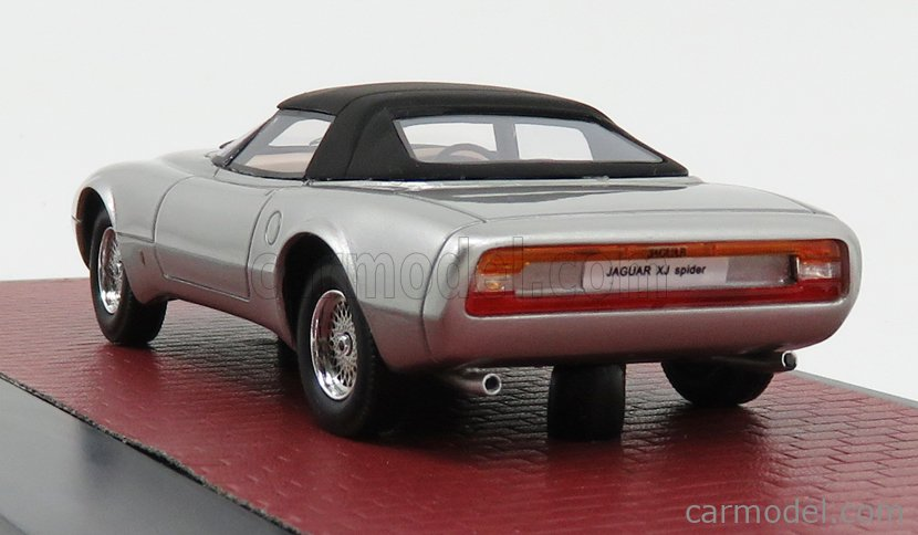 MATRIX SCALE MODELS MX51001-052 Escala 1/43  JAGUAR XJ SPIDER CONCEPT PINIFARINA CLOSED 1978 SILVER