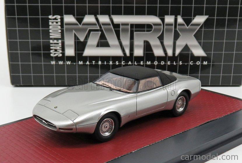 MATRIX SCALE MODELS MX51001-052 Masstab: 1/43  JAGUAR XJ SPIDER CONCEPT PINIFARINA CLOSED 1978 SILVER