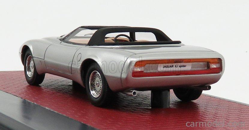 MATRIX SCALE MODELS MX51001-051 Scale 1/43  JAGUAR XJ SPIDER CONCEPT PINIFARINA OPEN 1978 SILVER