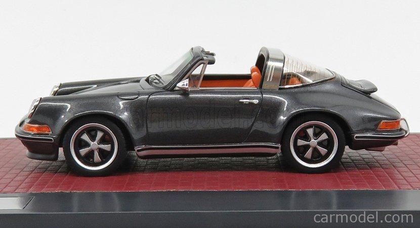 MATRIX SCALE MODELS MX41607-091 Scale 1/43  PORSCHE 911 TARGA SINGER DESIGN 2014 GREY