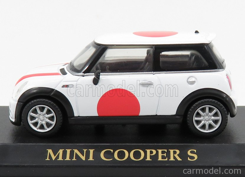 YAT-MING YM74248 Echelle 1/43  MINI COOPER S 2001 - CHINA FLAG WHITE