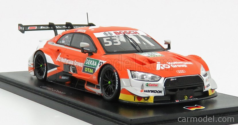 Audi Sport RS 5 DTM Jamie Green DTM 2019 Rosberg Hoffmann Group 1:43 Spark SG450