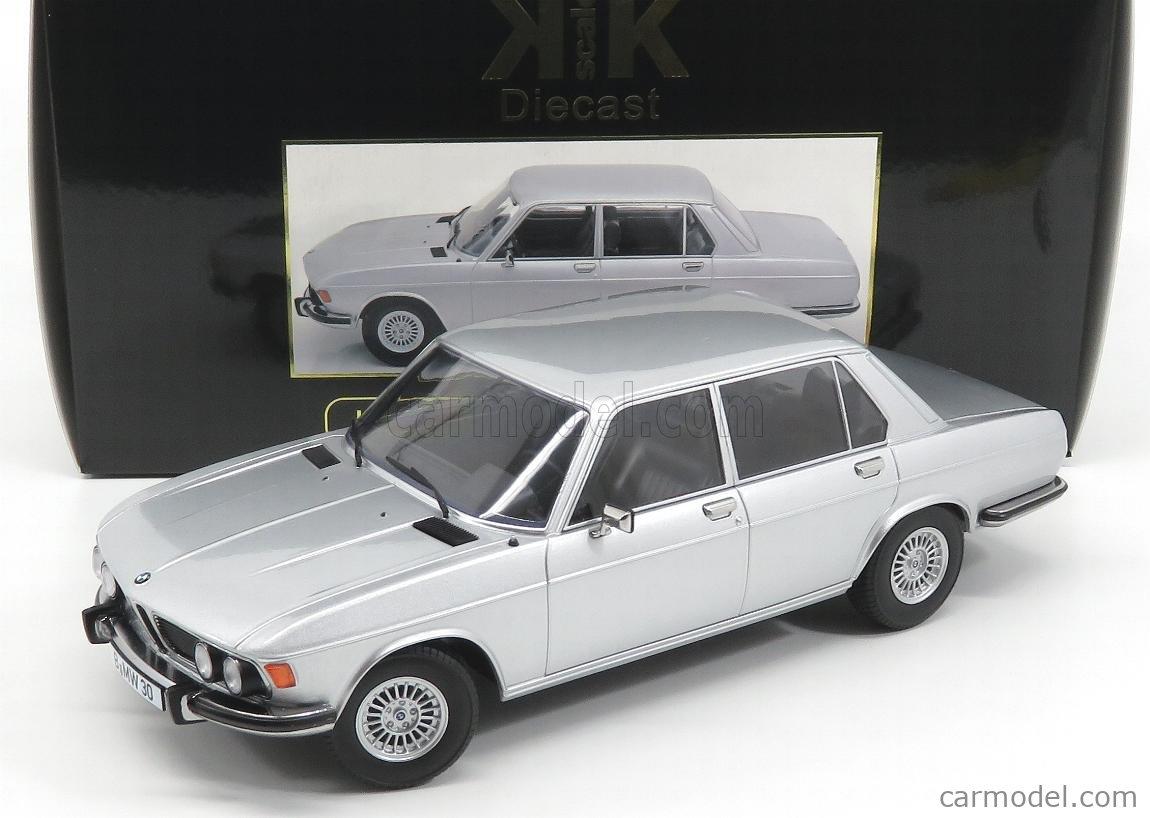 KK-SCALE KKDC180403 Echelle 1/18  BMW 3.0S E3 MKII 1971 SILVER