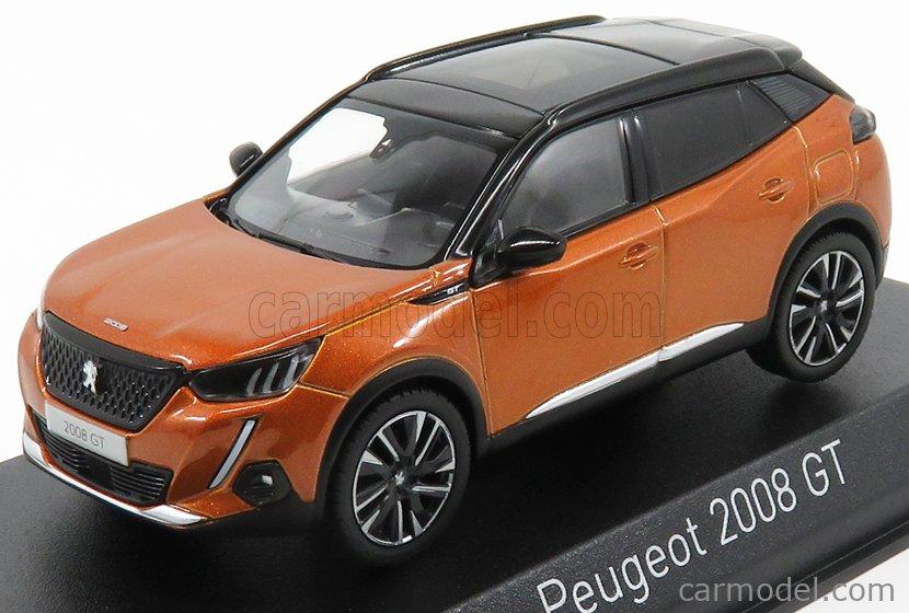 - Norev 1:43 472862 weiß met 2020 Peugeot 2008 GT