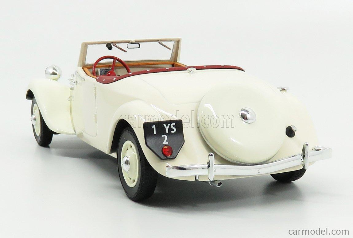 Citroen Traction Avant 11B Cabriolet 1939 Cream NOREV 1:18 NV181440 Model