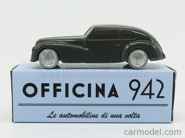 OFFICINA-942 ART1004C Scale 1/76  ALFA ROMEO 6C 2500 FRECCIA D'ORO 1947 GREY