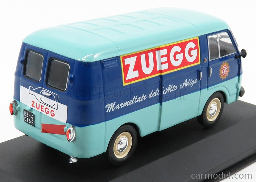 EDICOLA VCDE010 Echelle 1/43  FIAT 1100T VAN ZUEGG 1961 LIGHT BLUE BLUE