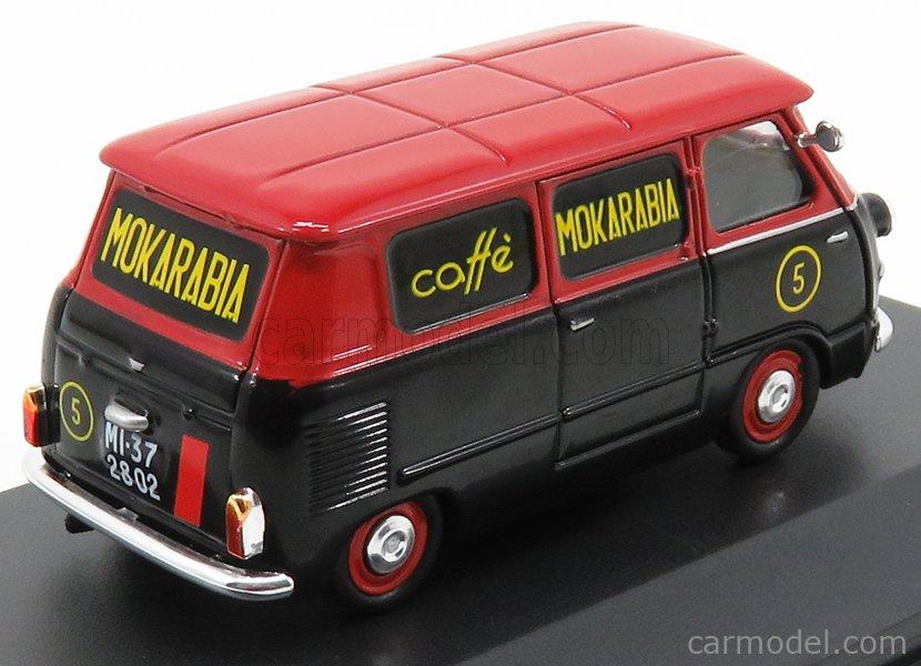 EDICOLA VCDE005 Echelle 1/43  FIAT 600 CORIASCO (MULTIPLA) MOKARABIA CAFFE' 1958 BLACK RED