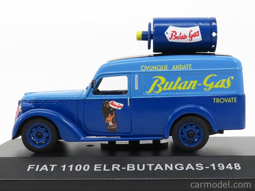 EDICOLA VCDE009 Echelle 1/43  FIAT 1100 ELR VAN - BUTANGAS - 1948 BLUE LIGHT BLUE