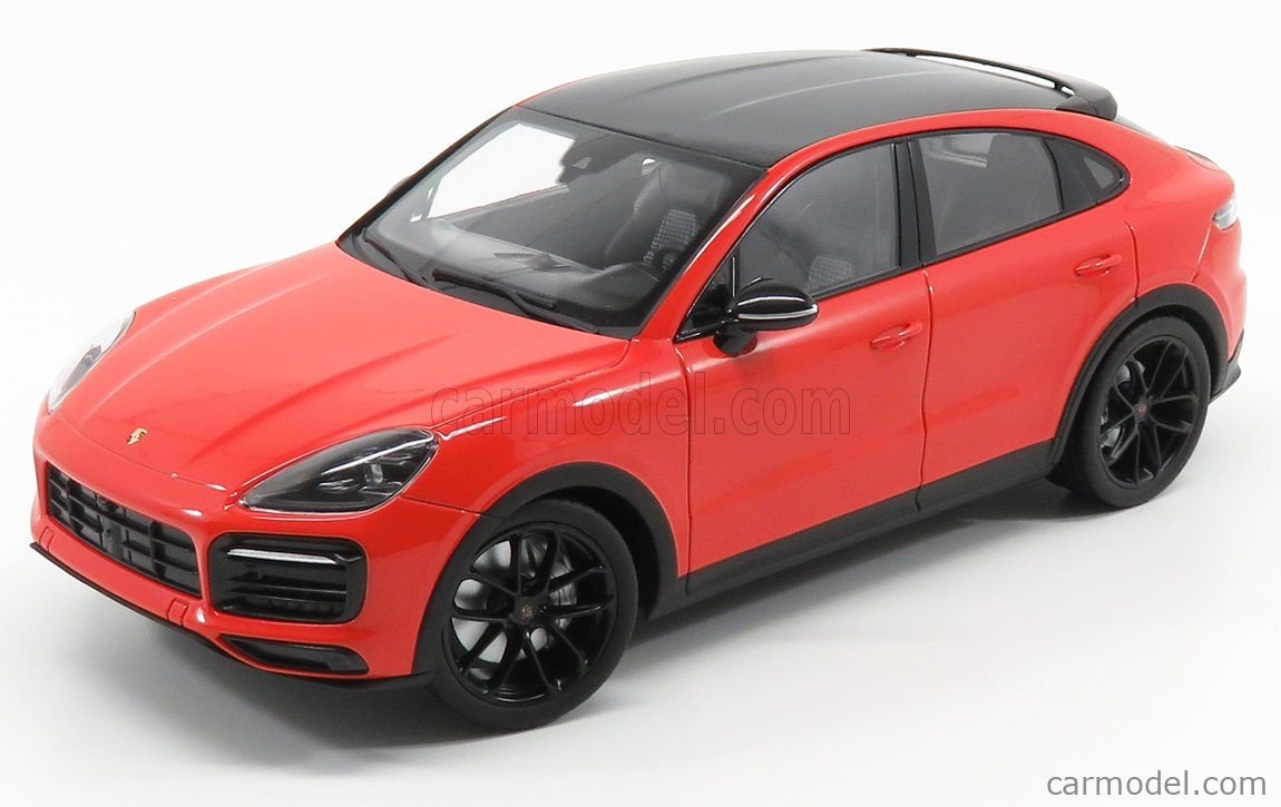 Norev Wap0213180k Scale 1 18 Porsche Cayenne S Coupe 2019 Lava Orange Black