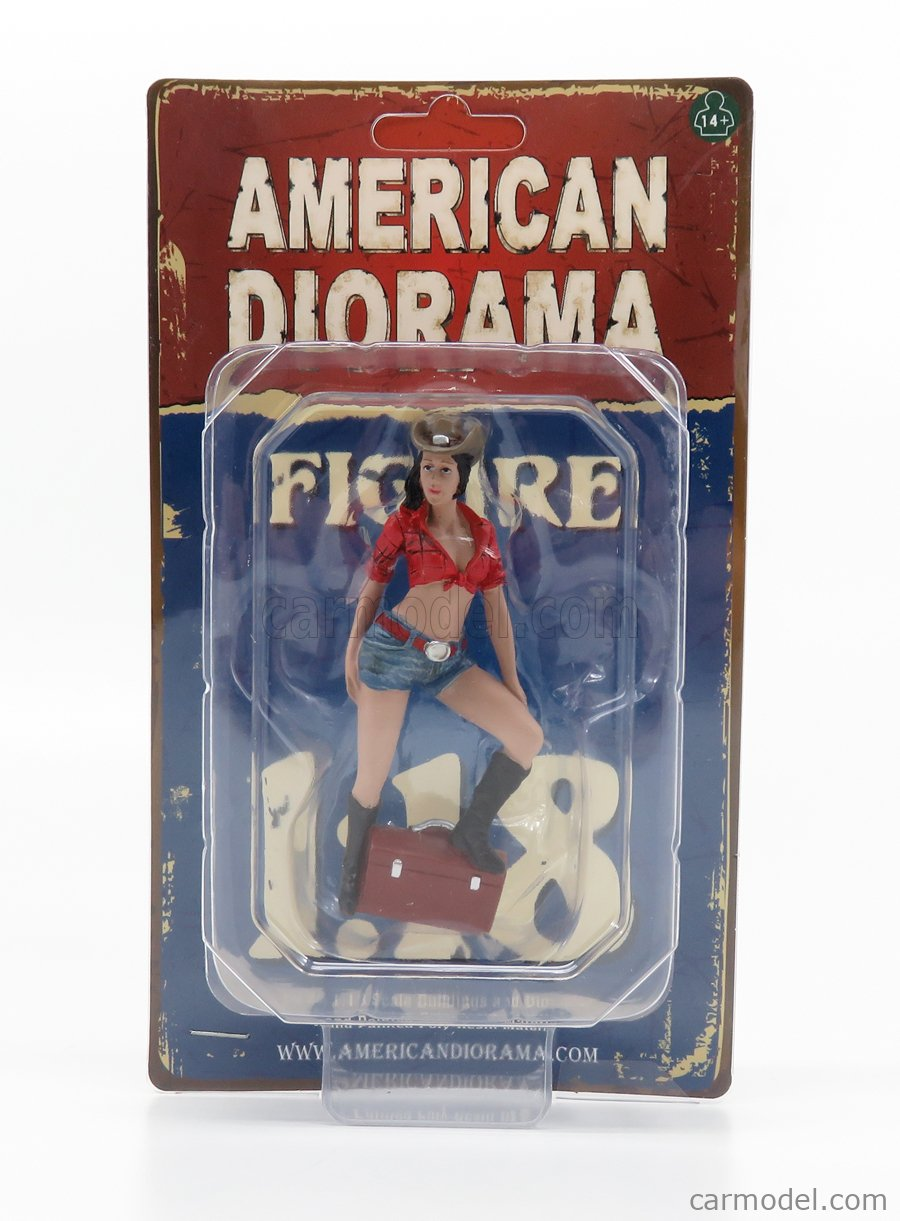AMERICAN DIORAMA 38203 Scale 1/18  FIGURES RAGAZZA - GIRL THE WESTERN - STYLE 3 VARIOUS