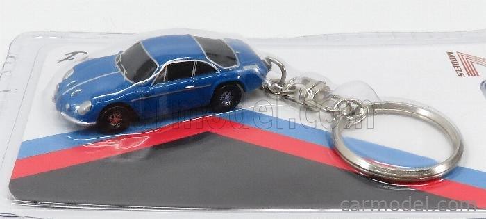 Z-MODELS ZMD001041 Scale 1/87  RENAULT PORTACHIAVI - KEYRING ALPINE A110 COUPE 1973 BLUE MET