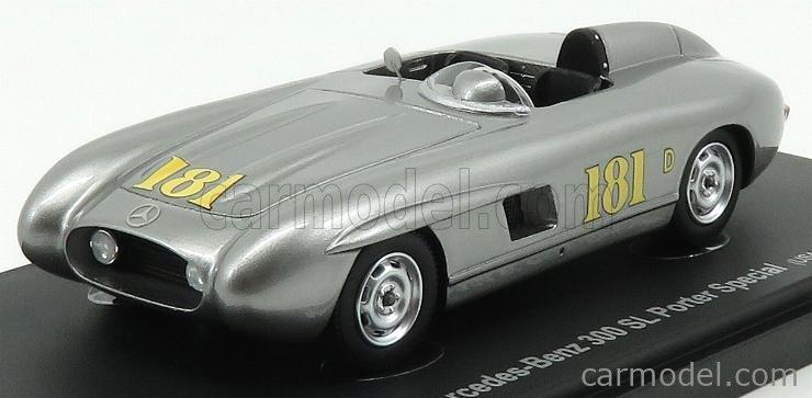 AVENUE43 ATC60008 Scale 1/43  MERCEDES BENZ 300SL PORTER SPECIAL USA 1956 SILVER