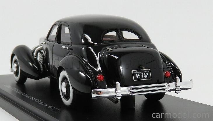NEO SCALE MODELS NEO45742 Scale 1/43  CORD 812 SUPERCHARGED SEDAN 1937 BLACK