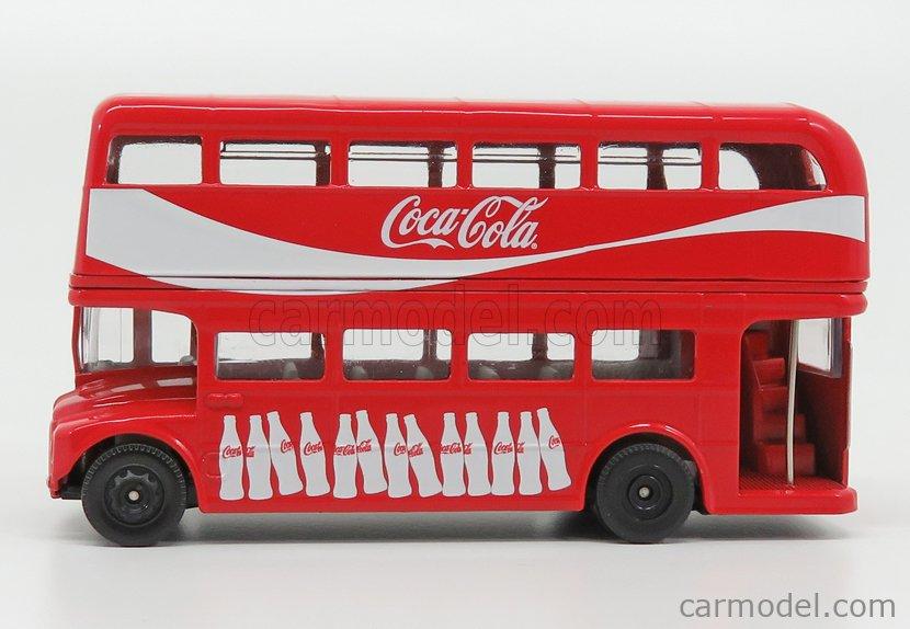 CORGI GS82332 Масштаб 1/64  ROUTEMASTER RML 2757 AUTOBUS LONDON COCA-COLA 1956 RED WHITE