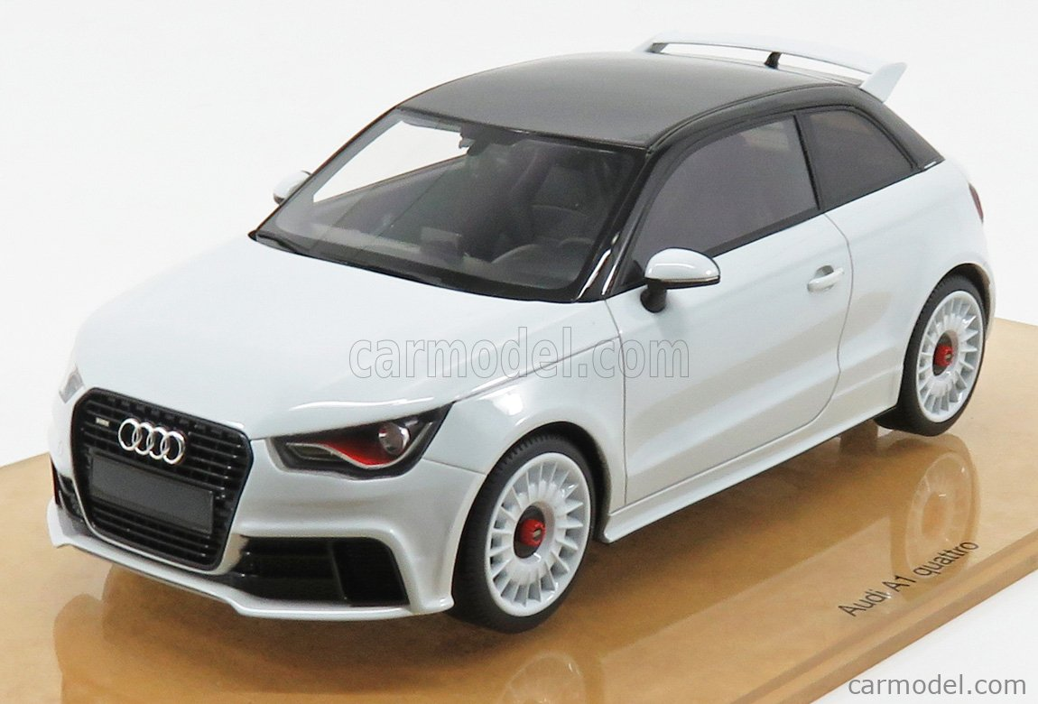 Dna Collectibles Dna000045 Scale 1 18 Audi A1 Quattro 2014 White Met
