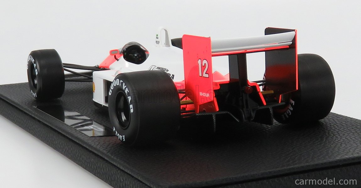 GP-REPLICAS GP043B Scala 1/18  McLAREN F1  MP4/4 HONDA N 12  AYRTON SENNA SEASON 1988 WORLD CHAMPION WHITE RED