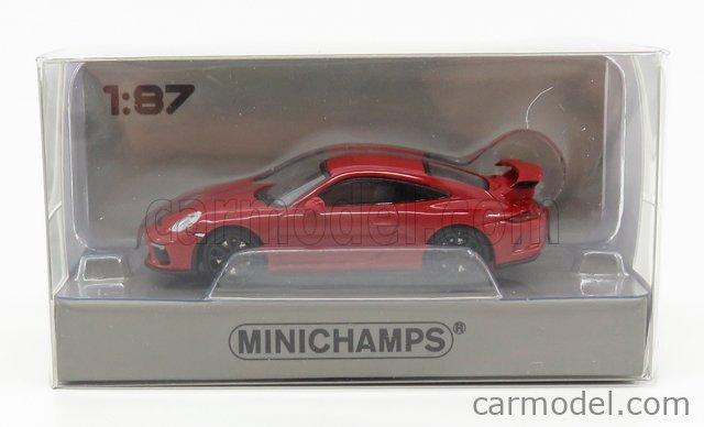 MINICHAMPS 870067322 1:87 Porsche 911 GT3 2017 Red Model car