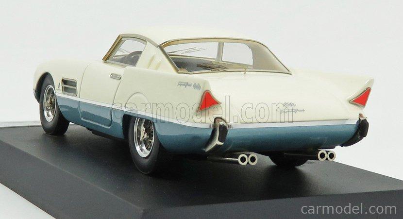 BBR-MODELS BBR40 Echelle 1/43  FERRARI 410 SA SUPERFAST SALONE DI PARIGI 1956 IVORY BLUE MET