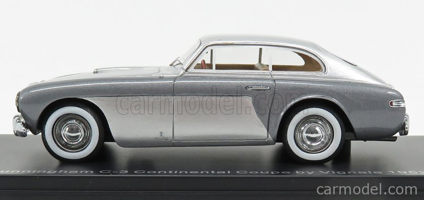 NEO SCALE MODELS NEO46546 Scale 1/43  CUNNINGHAM C3 CONTINENTAL COUPE VIGNALE 1952 GREY SILVER